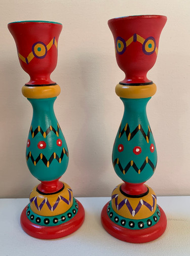 """Candlestick Holders 7"""""""