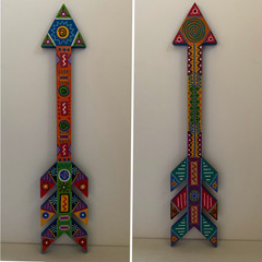 Snowflake Arrow 18 x 4""