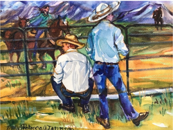 """Montana Cowboys"" by Rebecca Johnson"