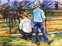 """Montana Cowboys"" by Rebecca Johnson"