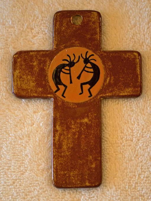 Kokopelli Cross