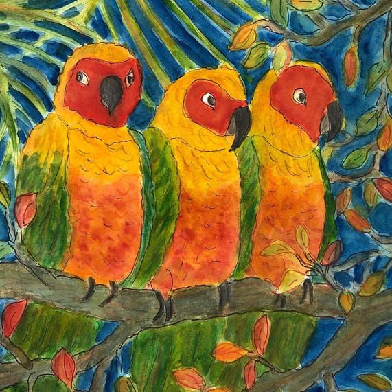 """""""Three Parrots"""""""