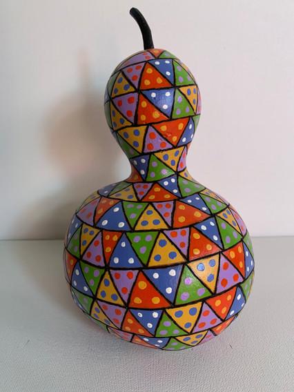"Triangle Dice Gourd 5 x 7"""