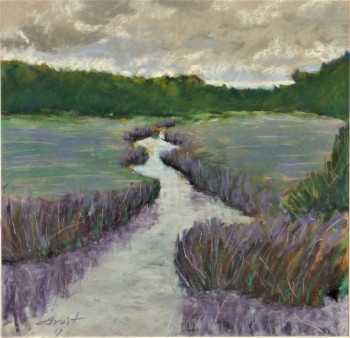 Purple Field and Stream