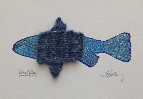 Fish Love Boat