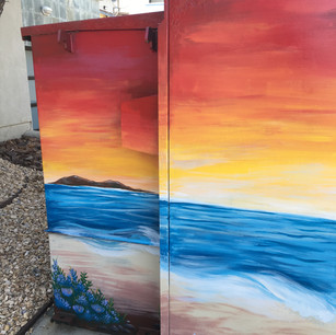 Completed Left Side, Large Utility Box