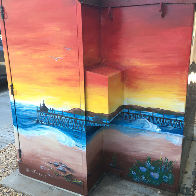 Completed Right Side, Large Utility Box