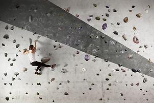 Active Woman Climbing