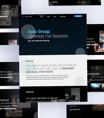 Email/SMS Marketing, Branding,  Web/UX and Graphic Design
