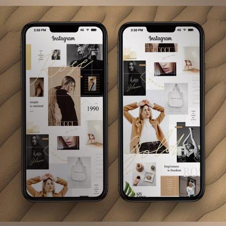 Instagram Storyboards & Highlights