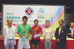 2012 SCAA Open Tennis Championship
