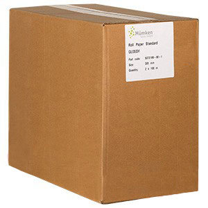 Noritsu Drylab Papier glanz, 30,5 cm x 100 m, 2 Rollen