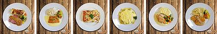 Photographies de plats préparés la main gourmande