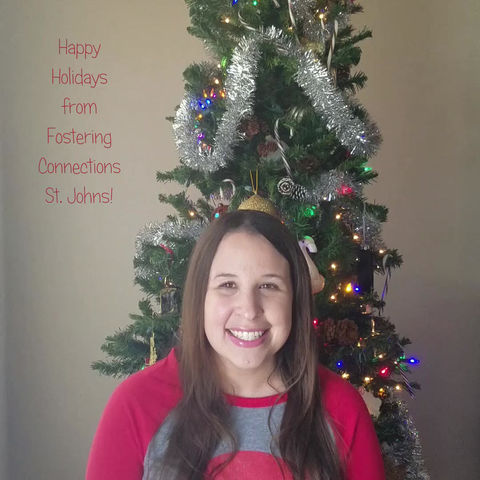 Merry Christmas and Happy Holidays from Fostering Connections St. Johns