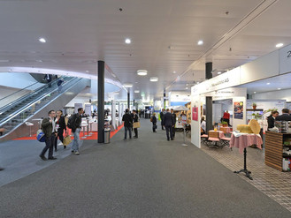 Take a break, talk science: Welcome to the WCSJ2019 Exhibition Area