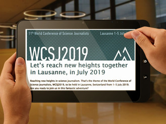 Let's reach new heights together in Lausanne, in July 2019