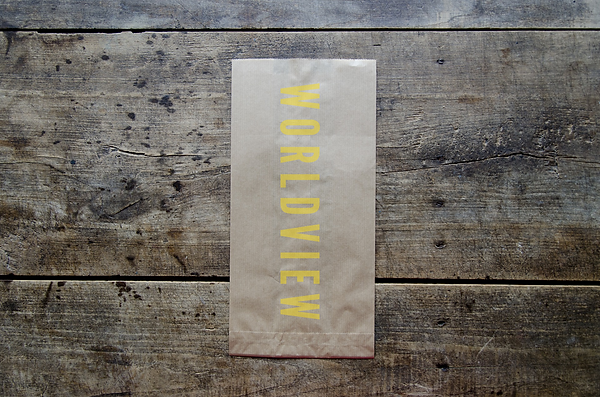 Worldview. Paper Bag.
