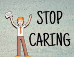 How to stop caring about what people think