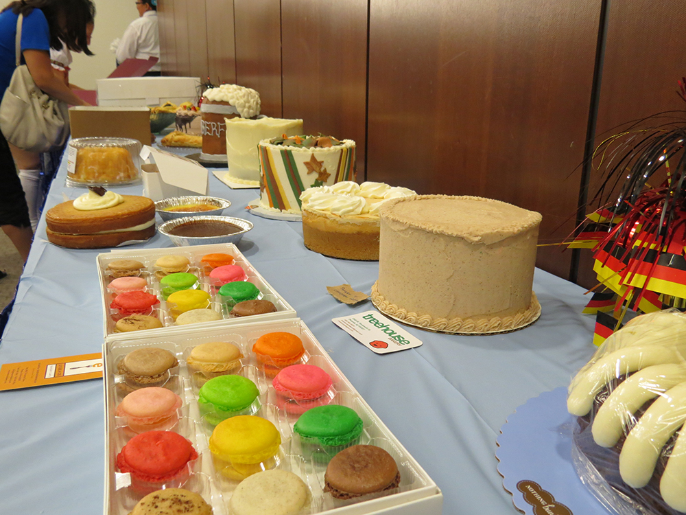 More Cakes for Cake Auction