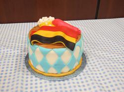 Oktoberfest Themed Cake