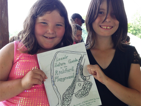 Campers in St. Albans and Richford release local nature guides
