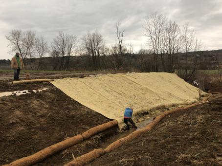 Berkshire farmer works to restore stream