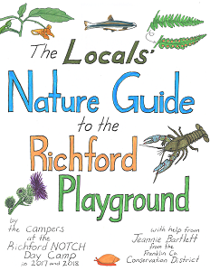 """Conservation District and Richford campers create a """"Locals' Nature Guide"""""""