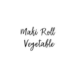 MAKI ROLL VEGETABLE