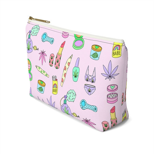 Puff Pixie Accessory Pouch w T-bottom