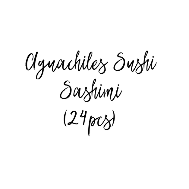 AGUACHILES SUSHI SASHIMI $47.85