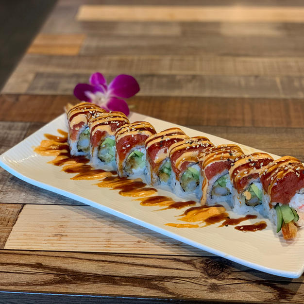 SPICY TUNA LAVA ROLL $13.85
