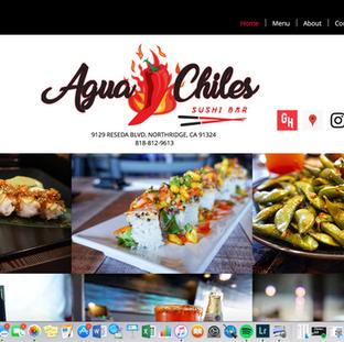 Website Sushi Restaurant