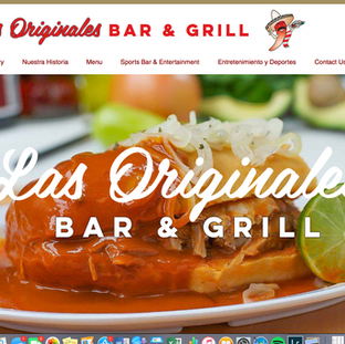 Website Mexican Restaurant