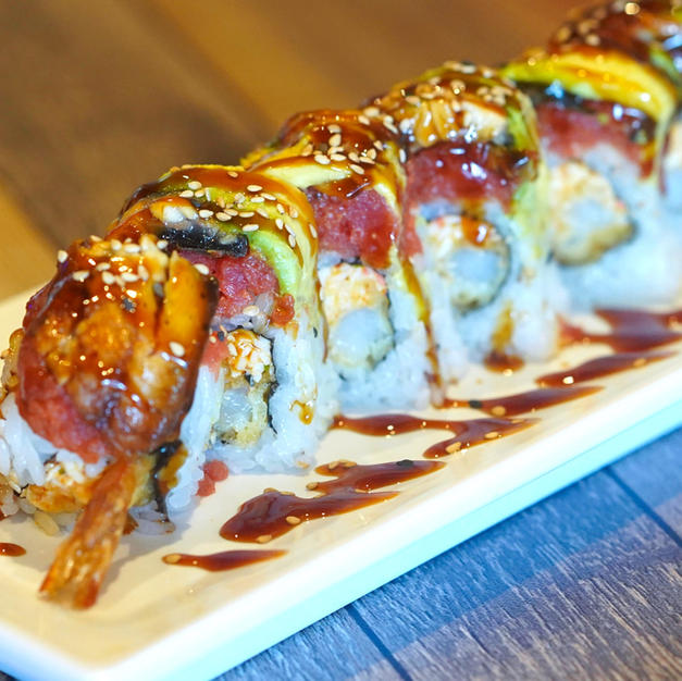 RED DRAGON ROLL $14.85