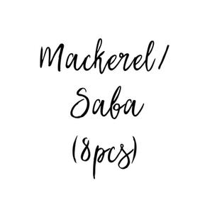 Mackerel / Saba (8pcs) $14.85