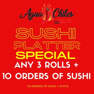 Sushi Platter $65.99