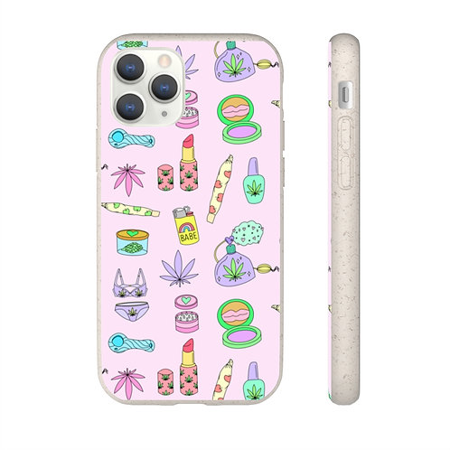 Biodegradable Puff Pixie Phone Case