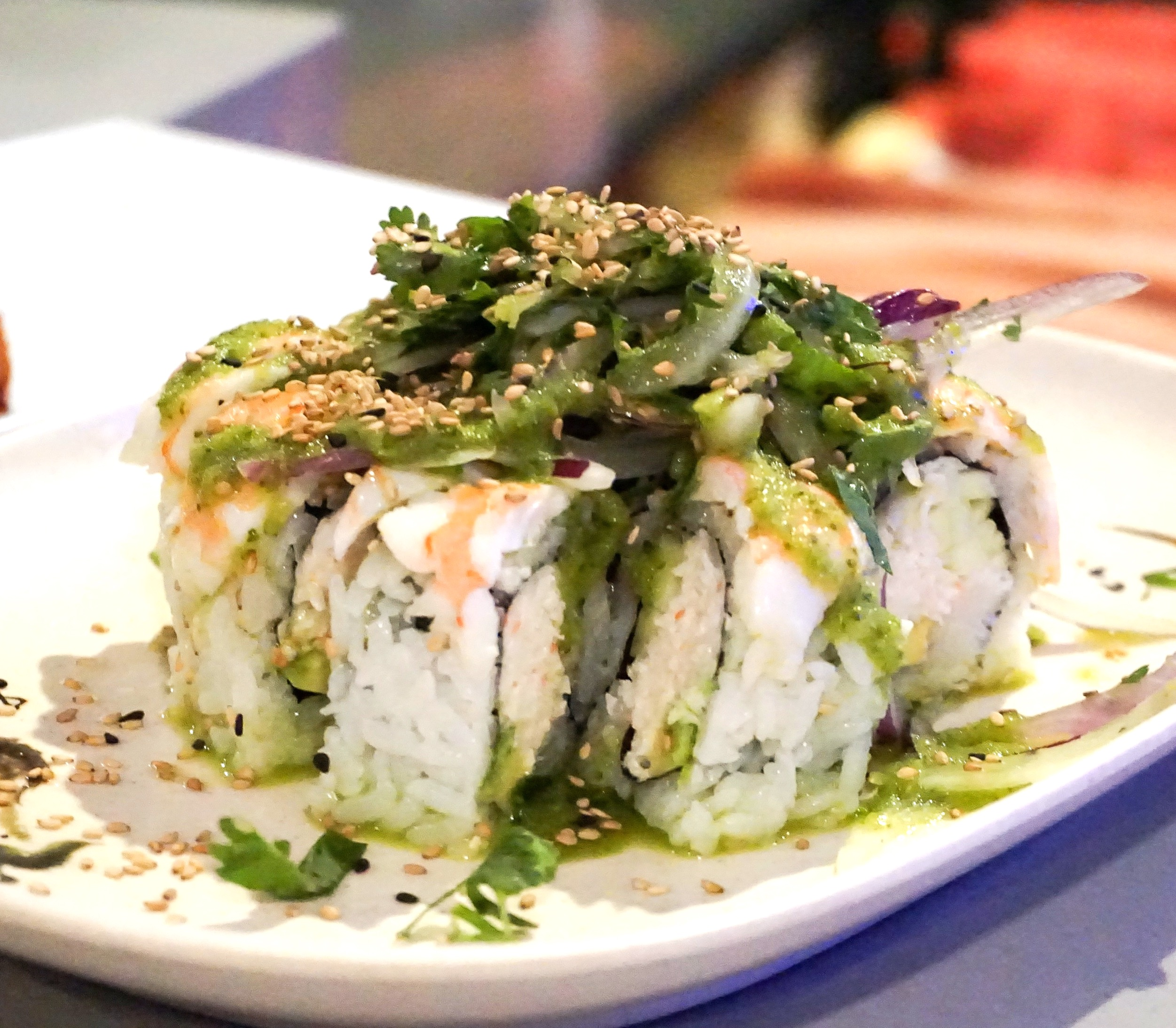 Agua Chiles Roll
