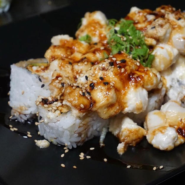 BAKED SCALLOP ROLL $13.85