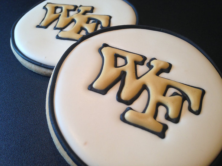 Wake Forest cookie favors