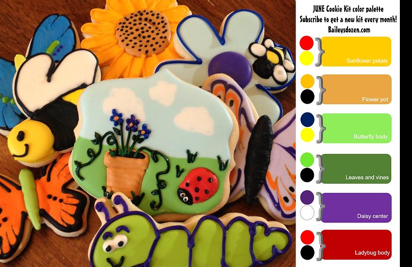 Garden Friends DIY Cookie Kit