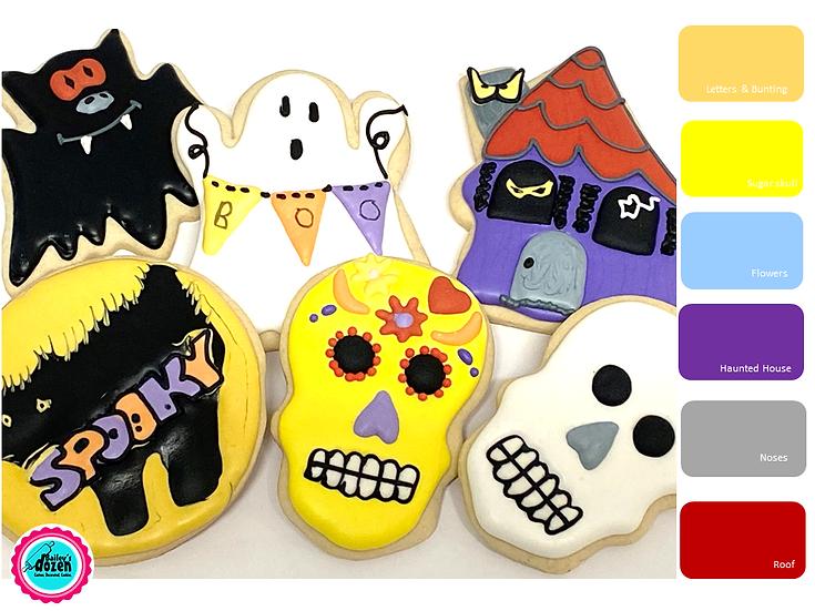 Spooky Halloween DIY Cookie Kit