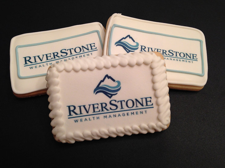Custom decorated digital trade show cookies
