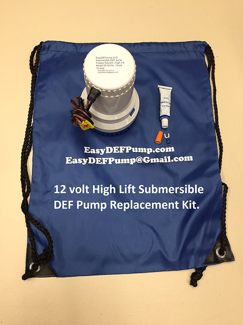 12VHL REPLACEMENT PUMP KIT