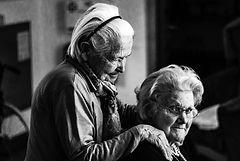 Senior residents in Affordable Housing