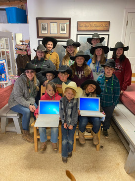 New Computers for the Cowboy Kids in 2021