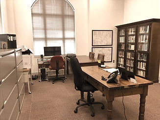 Roswell Historical Society Research library room