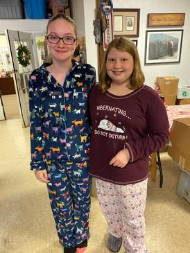 Sponsored Pajama Party