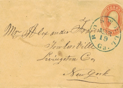 1839's Bookkeeper for the Roswell Manufacturing Company