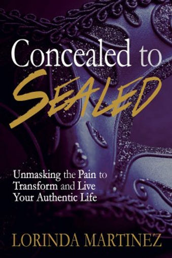 editing and ghostwriting book: Concealed to Sealed